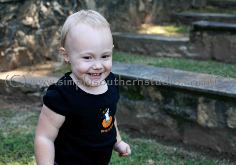 Halloween Mini Session Toddler Raleigh