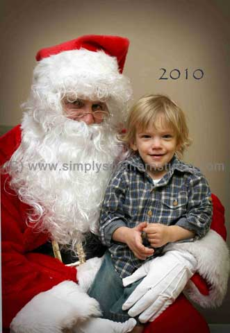 Santa Child Portrait