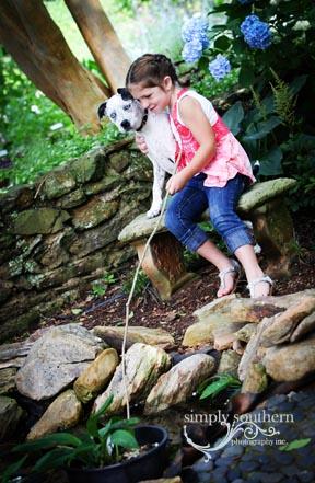 child dog fishing american bulldog picture winston salem