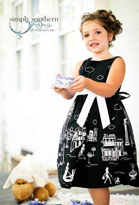 child tea party photography winston salem