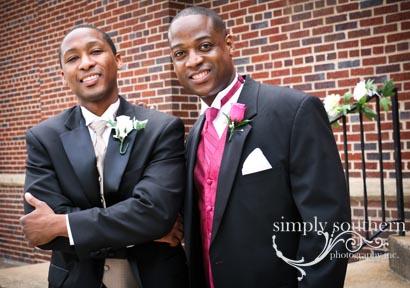 fun bridal party formals wedding winston salem photographer