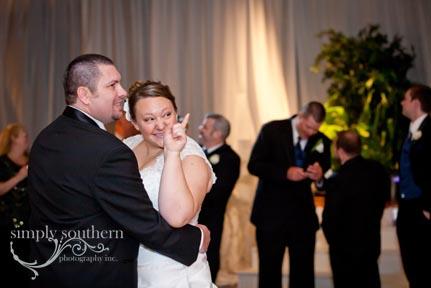 millennium center wedding photography first dance