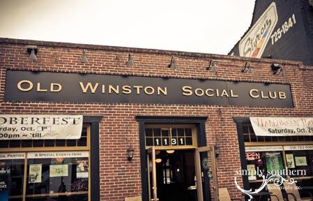 Old Winston Social Club Winston Salem downtown events