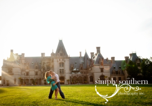biltmore engagement fall session
