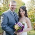 bride groom winery wedding